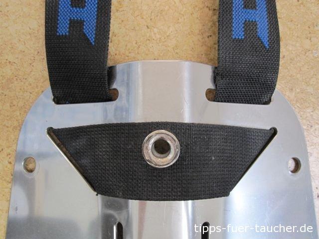 Gurtband Rückenplatte