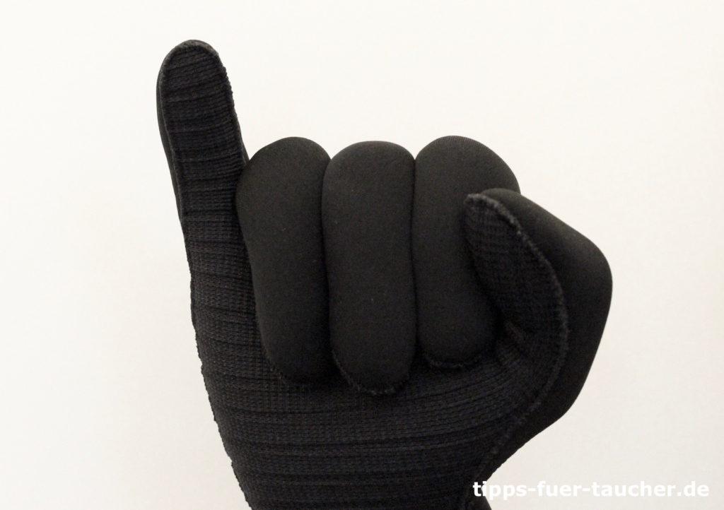 Dekompression Handzeichen für Taucher