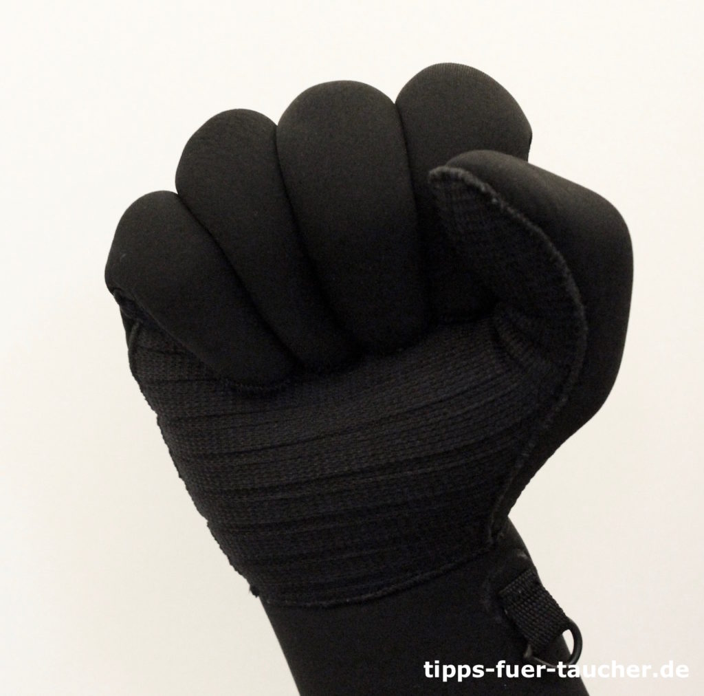 Stopp, Handzeichen für Taucher
