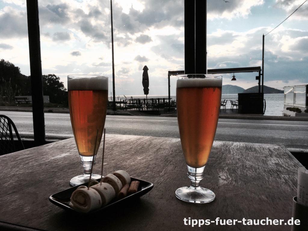 Tec 2 bestanden. Bier zur Belohnung