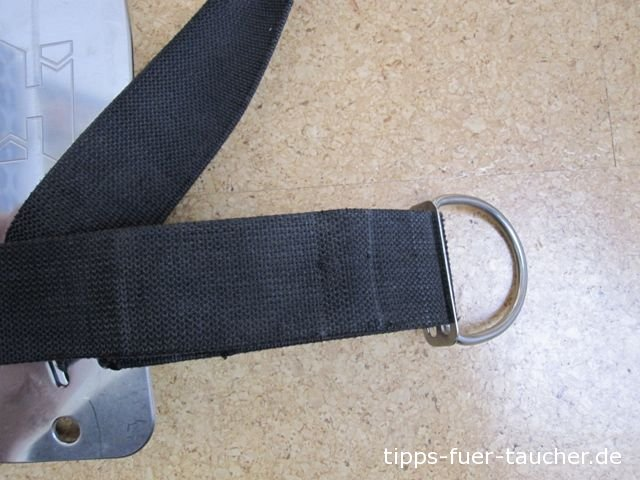 Hüft-D-Ring am Harness
