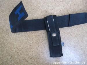 Messer auf DIR-Harness