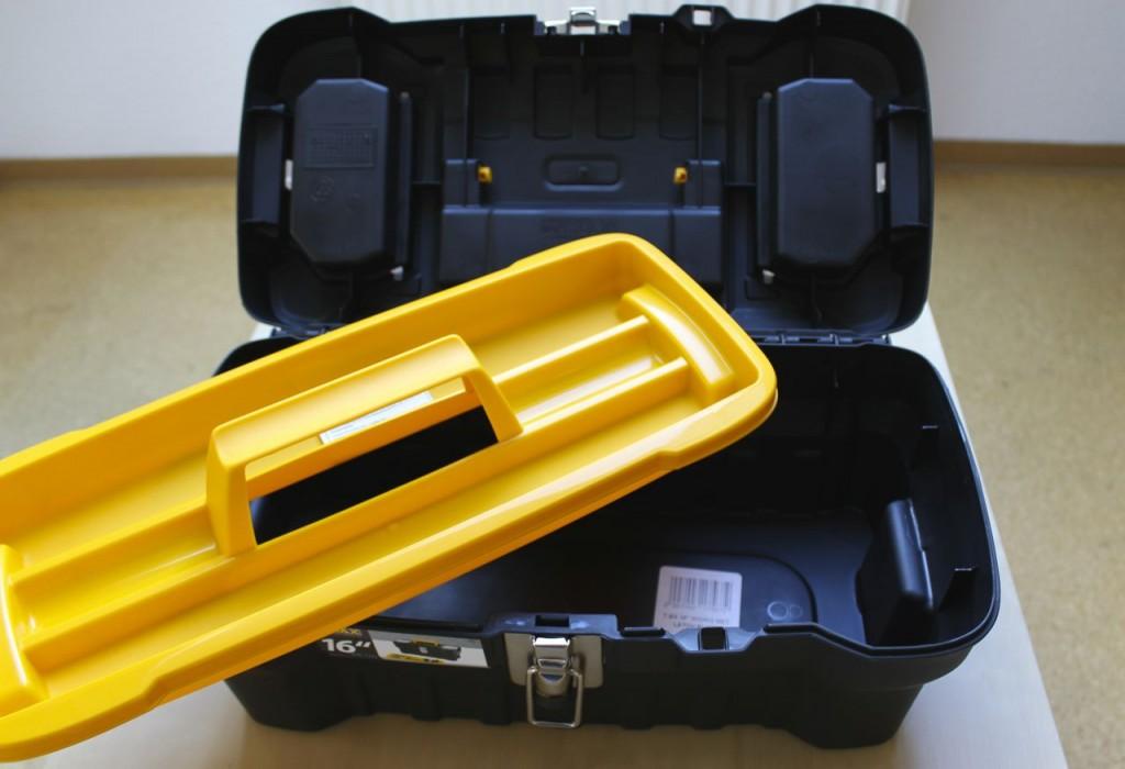 Werkzeugkoffer für Taucher- Übersicht
