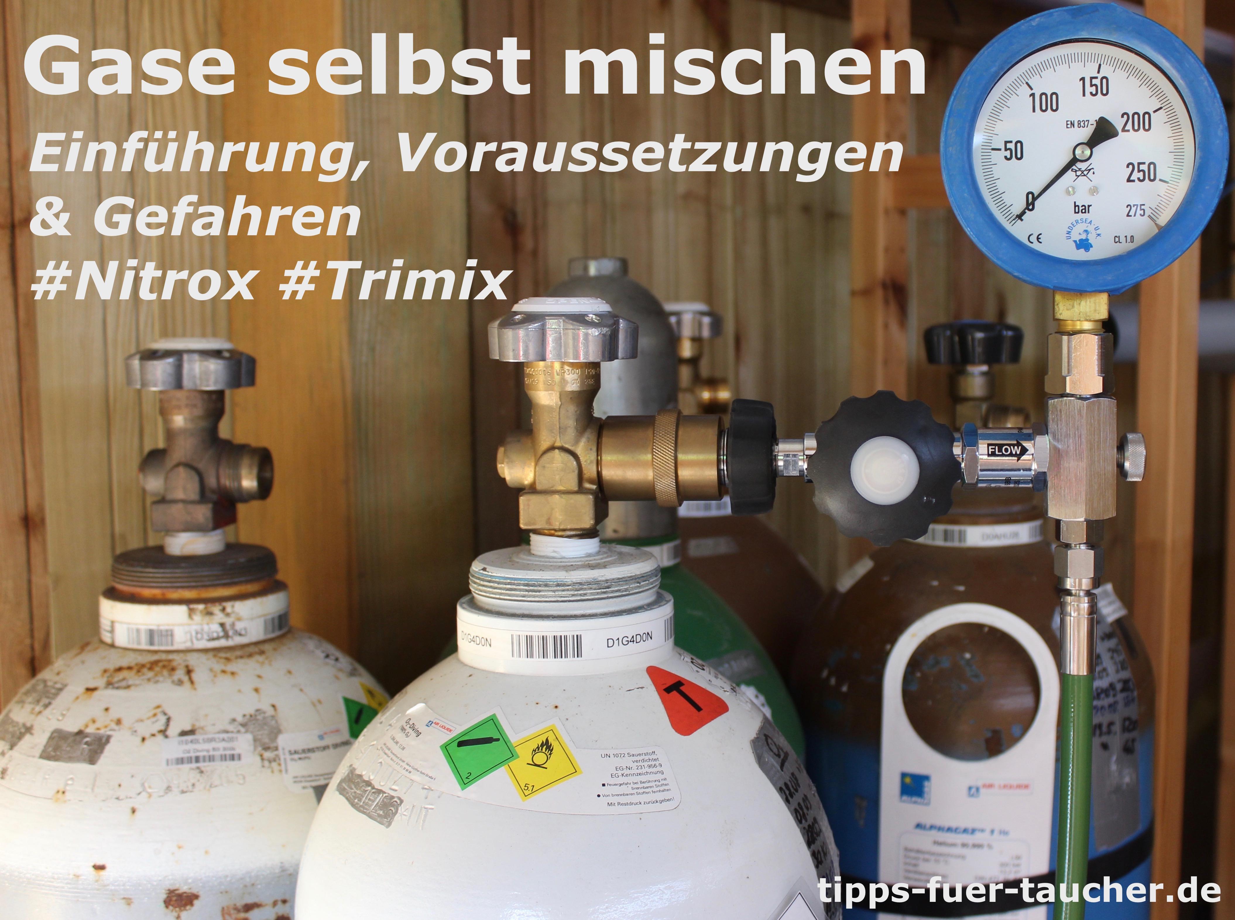 Trimix mischen