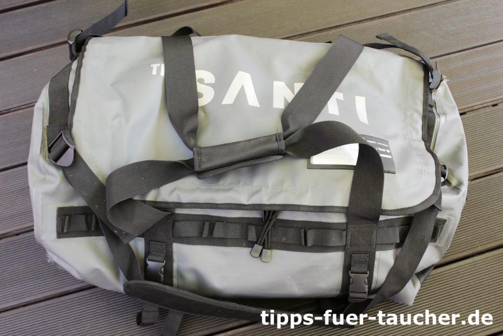Wasserdichte Tasche, die mit dem Emotion Plus geliefert wird