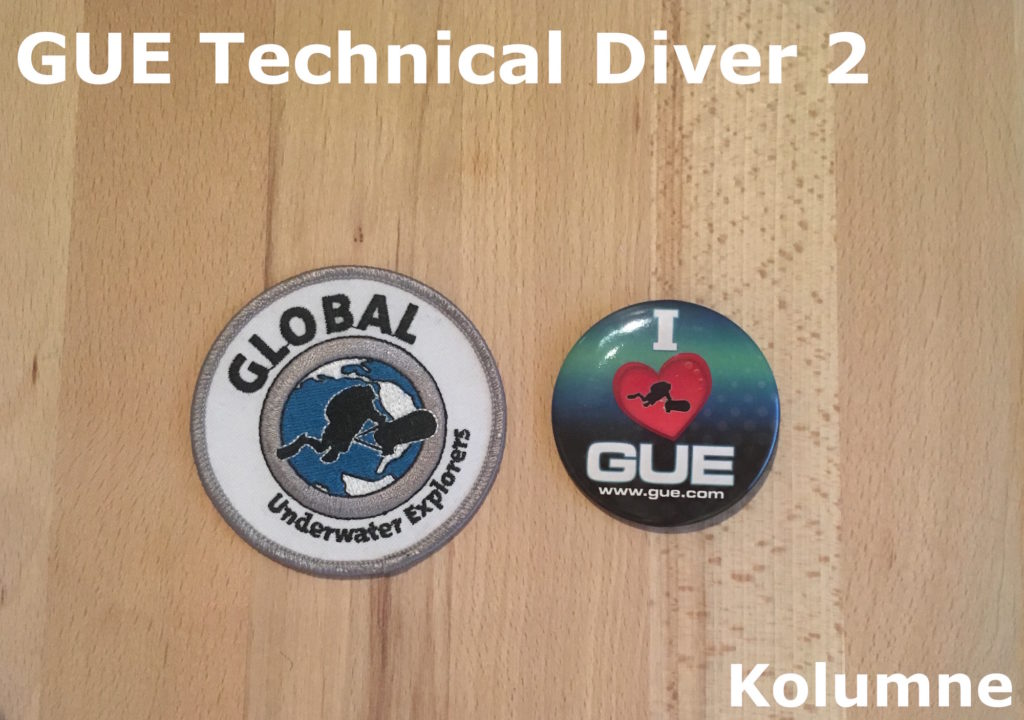 GUE Technical Diver 2
