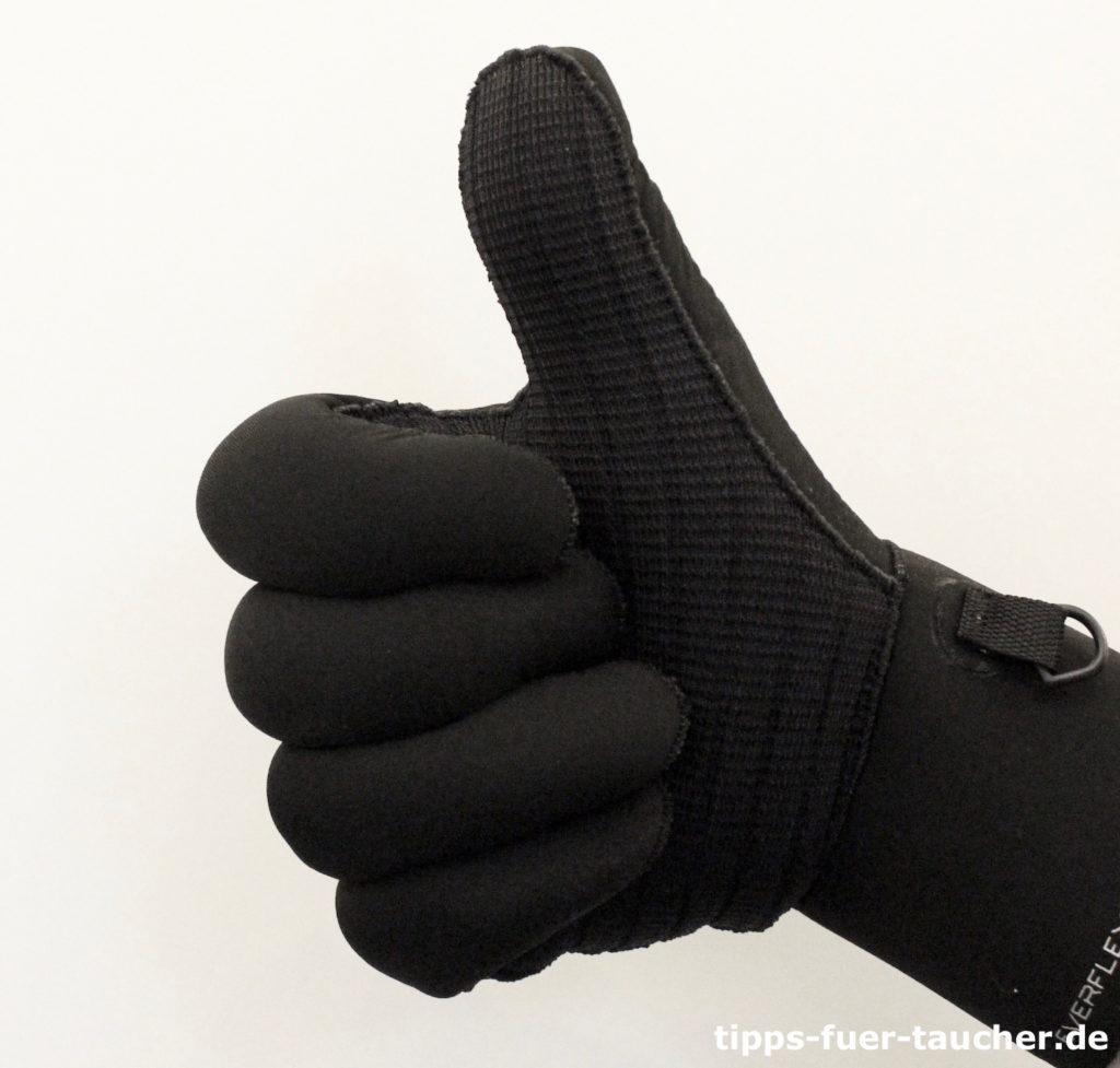 Auftauchen, Handzeichen für Taucher