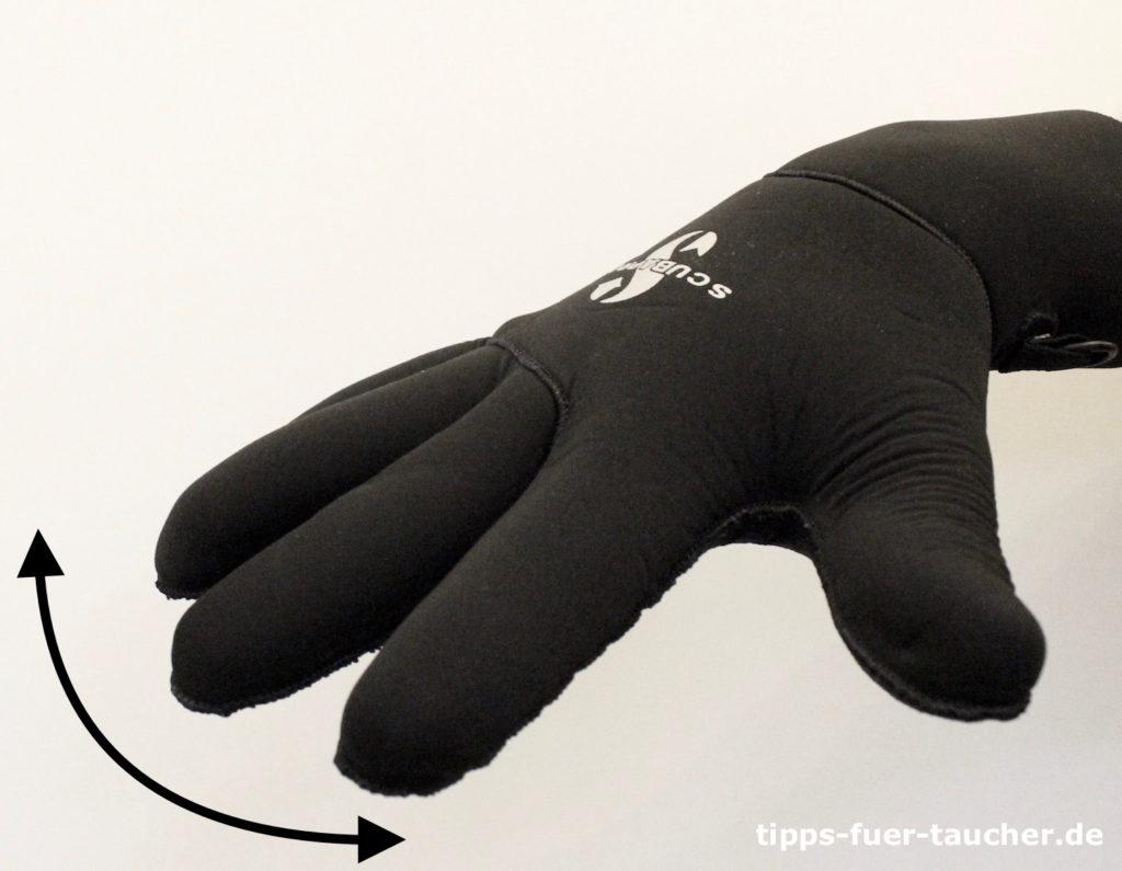 Problem, Handzeichen für Taucher