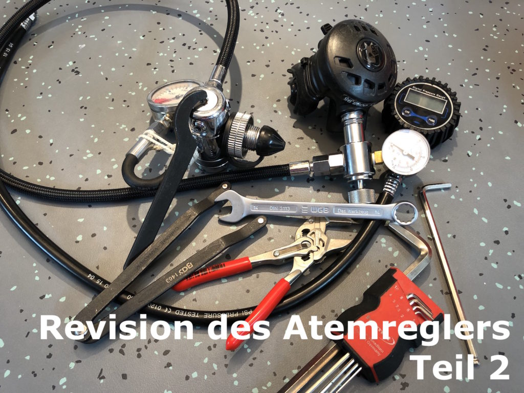 Welches Equipment wird für die Revision eines Atemreglers benötigt?